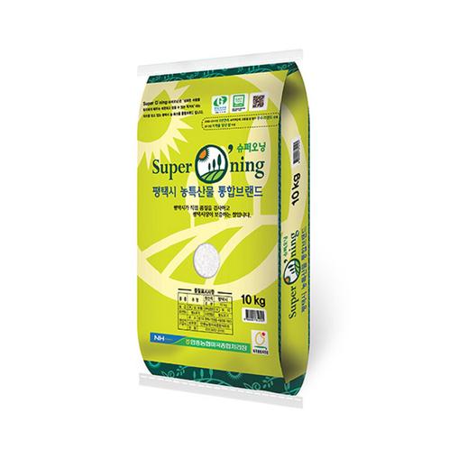 [20년 햅쌀_10kg] 안중 슈퍼오닝 추청쌀 10kg(추청미)